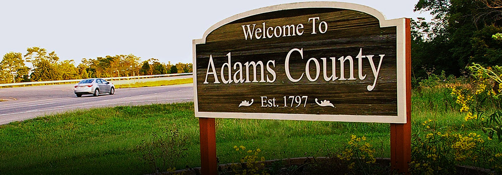 Adams County Welcome Sign - photo